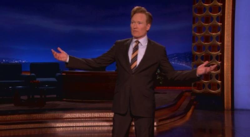 Conan O'Brien és én, meg a late night show